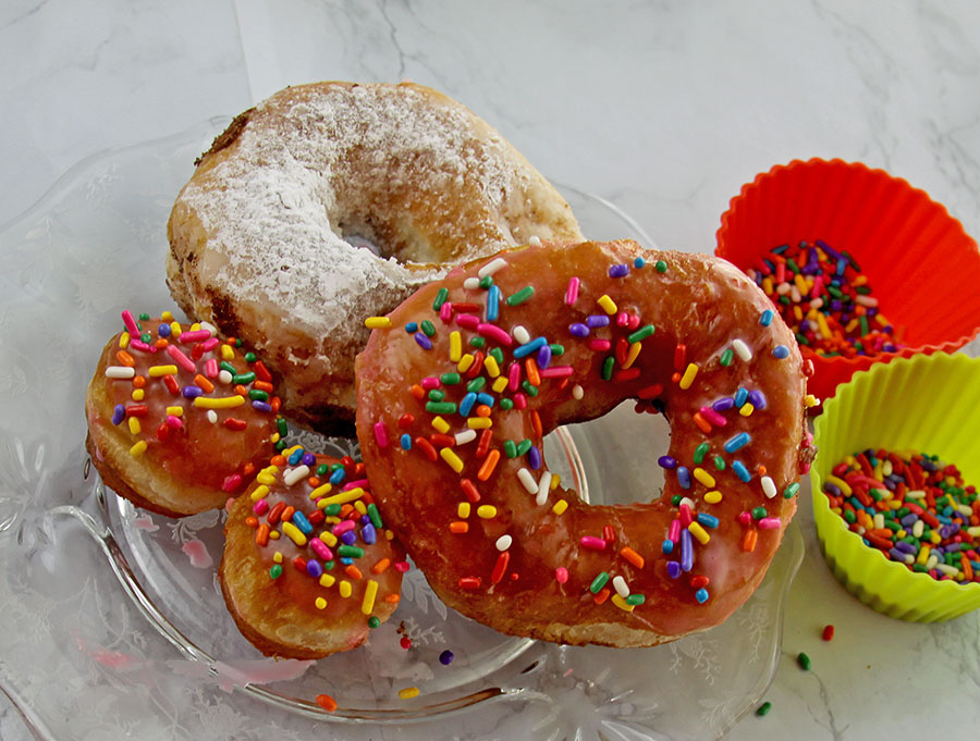 Easy Biscuit Donuts via Spoonful of Easy