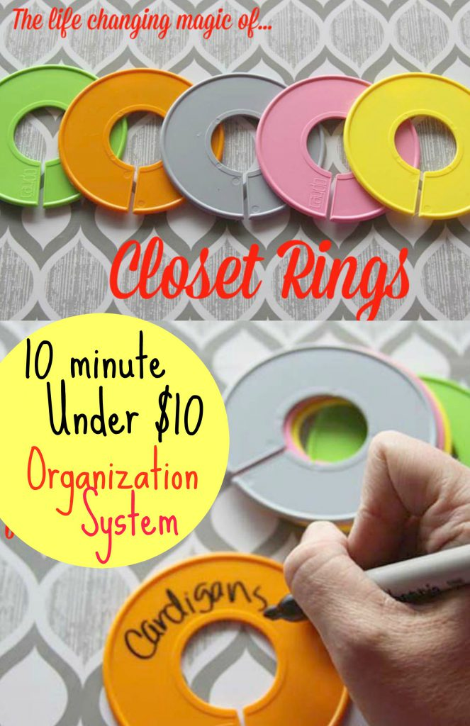Easy Closet Makeover #closetmakeover #organization