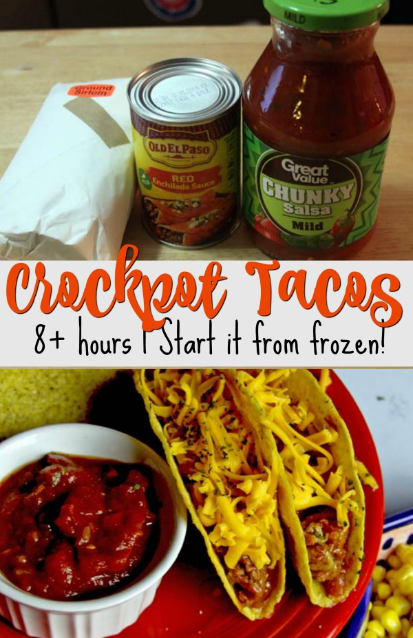 Crockpot Taco Joes | Spoonful of Easy #tacos #easydinner