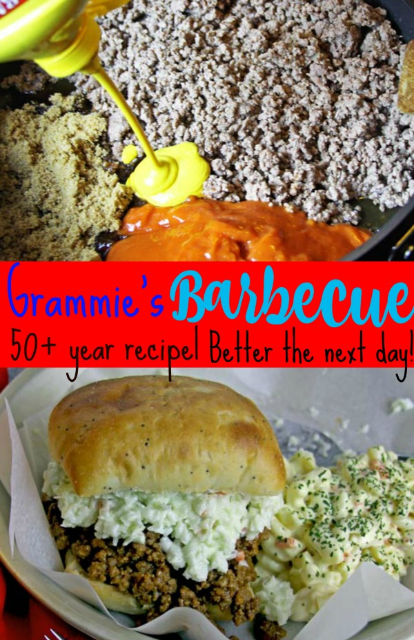 Grammie's Barbecue | Spoonful of Easy #easydinner #sandwiches