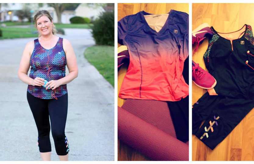 Fila workout gear review | Spoonful of Easy #workoutclothes