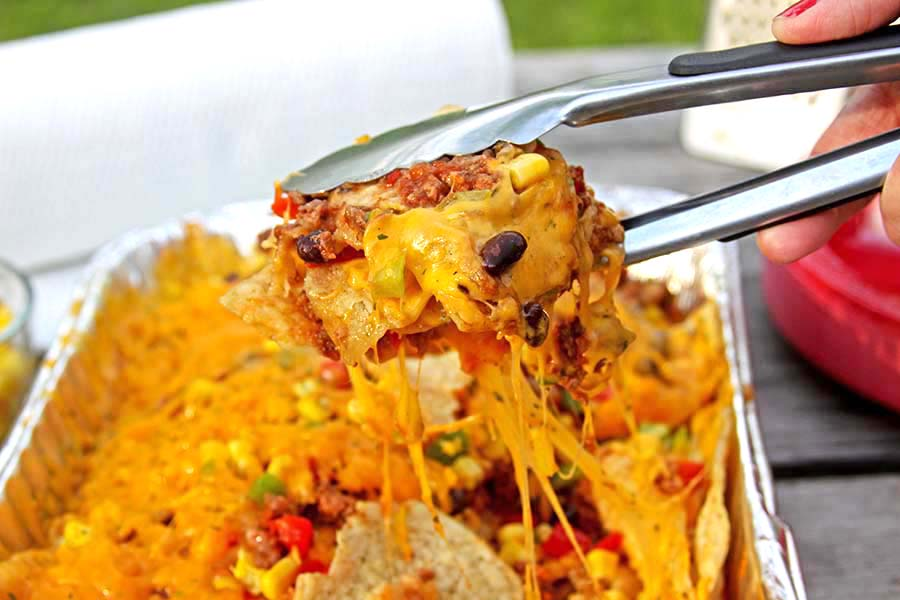 Easy Nachos on the Grill