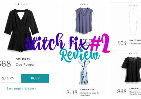 Stitch Fix Review #2 ~ Spoonful of Easy