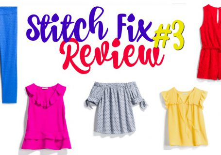 Stitch Fix Review #3 | Spoonful of Easy #stitchfix #stitchfixreviewsrecent