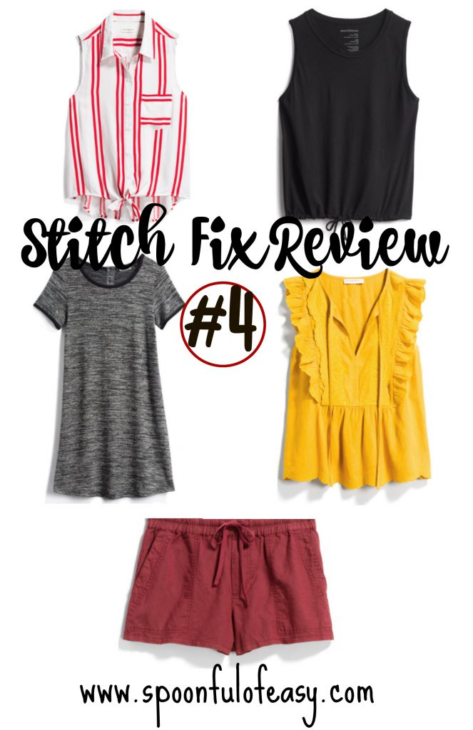 Stitch Fix Roundup #4 | Spoonful of Easy #stitchfix #stitchfixreviewsrecent