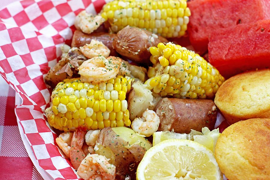 Easy Seafood Boil
