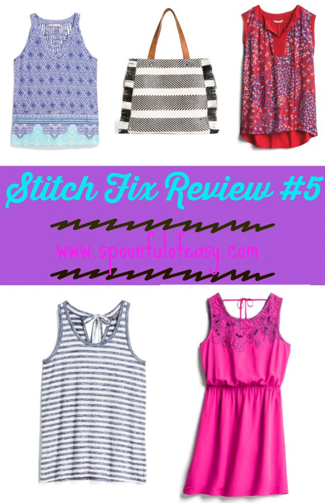 Stitch Fix Review #5 | Spoonful of Easy #stitchfixreviews #stitchfixreviewsrecent