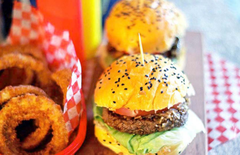 Beer burgers - the ultimate burger makeover