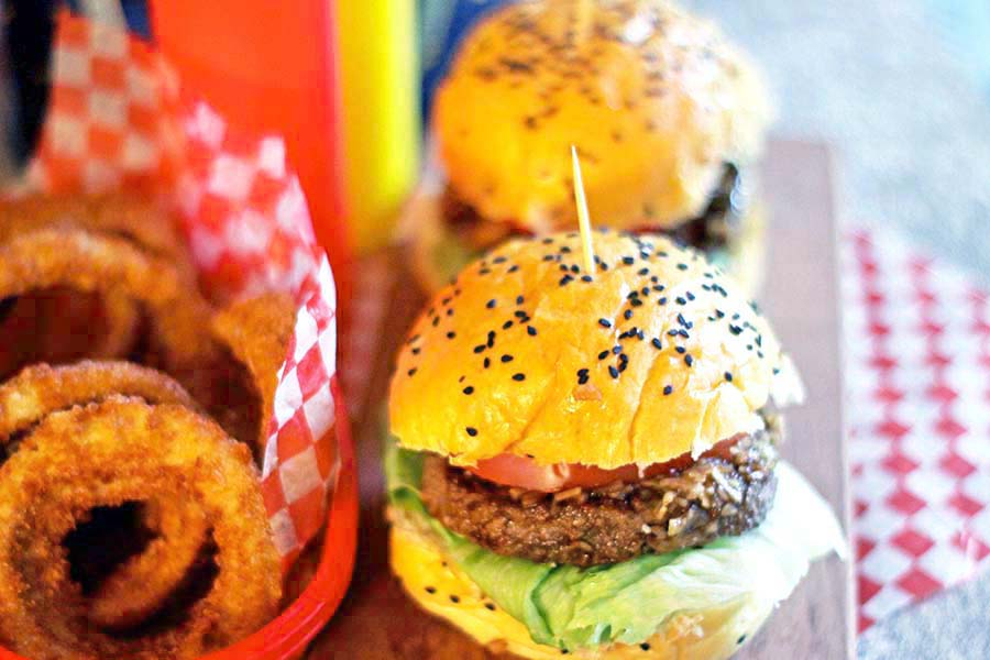 Beer Burgers ~ let's makeover those leftover burgers!