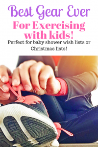 Best Gear for Exercising with Kids #exercise #strollers #biking