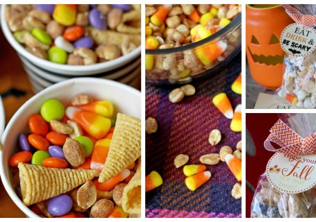 Fall Snack Mix Three Ways