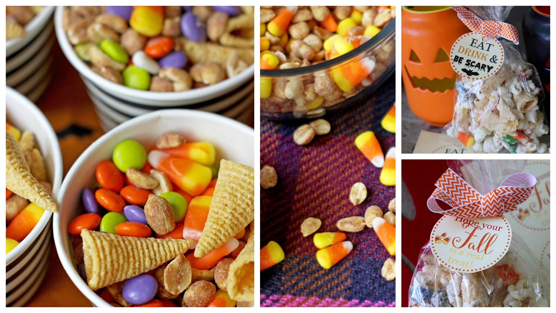 Fall Snack Mix ~ Three Ways