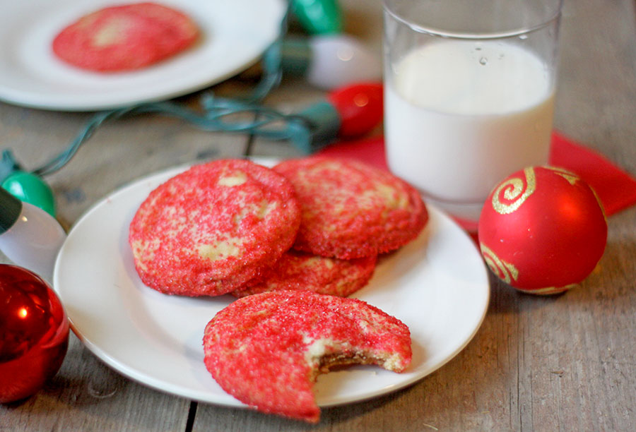 Mint Sugar Cookies #christmascookies #cookies