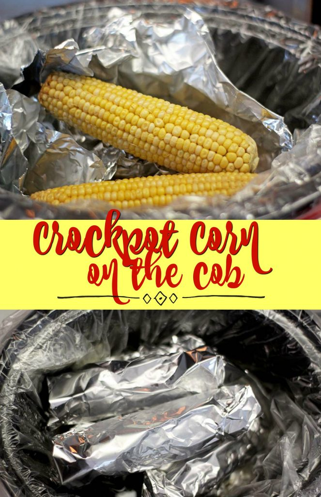 Easy Crockpot Corn on the Cob