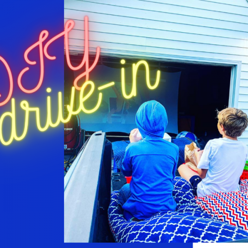DIY Drive-in Movie