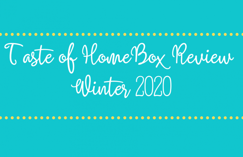taste of home winter 2020 review
